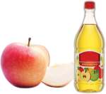 Apple vinegar for hair