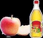Apple vinegar for hair